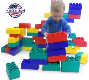 Learning to Build with 48 Jumbo Blocks