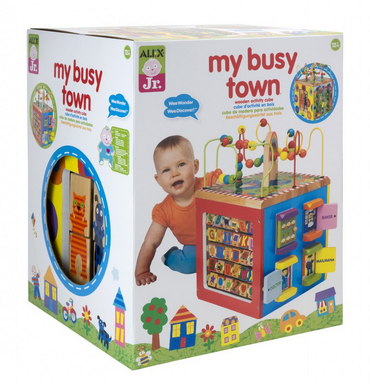 Alex toys my busy town wooden