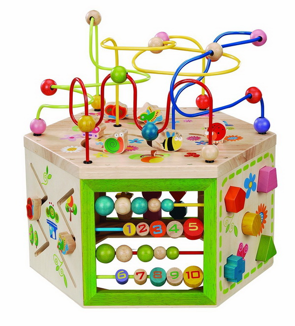 Educational Toys for kids EverEarth Garden Activity Cube