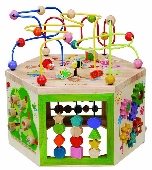 Toys for kids EverEarth Garden Activity Cube review