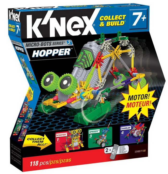 K'NEX Collect and Build Robo Battlers Series Stomper reviews