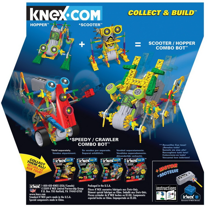 K'NEX Collect and Build Robo Battlers Series Stomper toy reviews