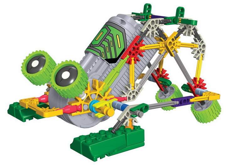 K'NEX Collect and Build Robo Battlers Series Stomper for children