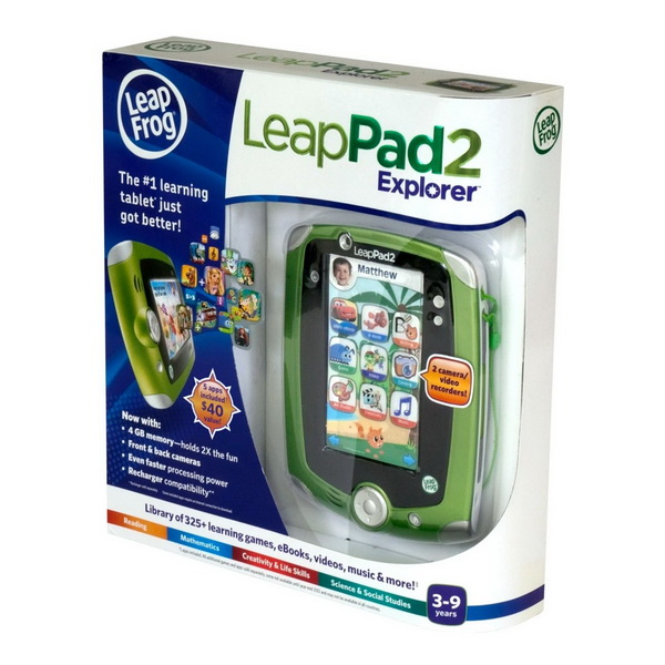 LeapFrog LeapPad2 Explorer Kidss Learning Tablet review educational toy