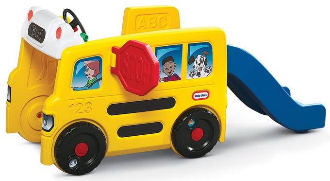 Little Tikes School Bus Activity Gym kid toy review