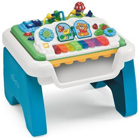 Chicco Music and play table toy for kids review