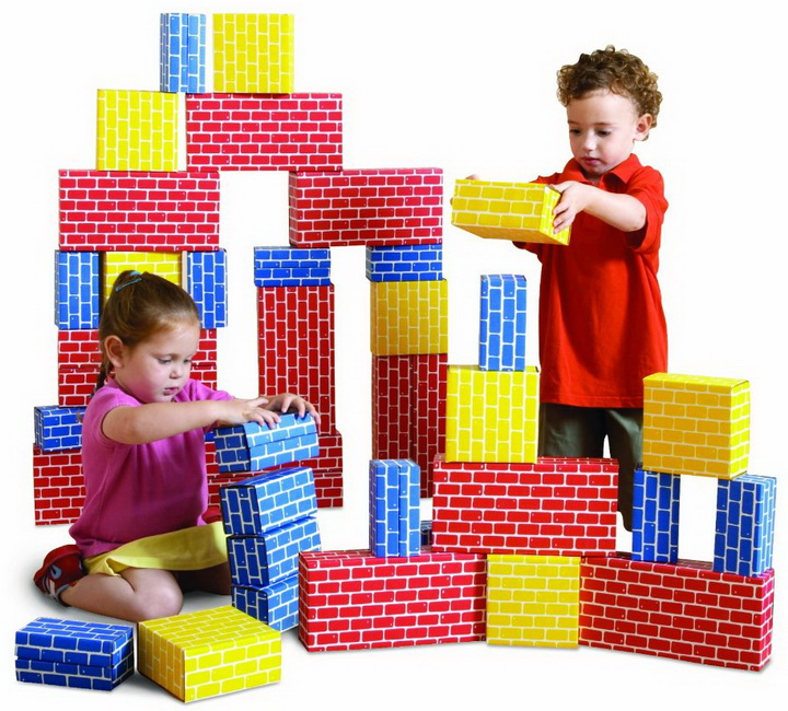 Edushape corrugated blocks set toys for kids