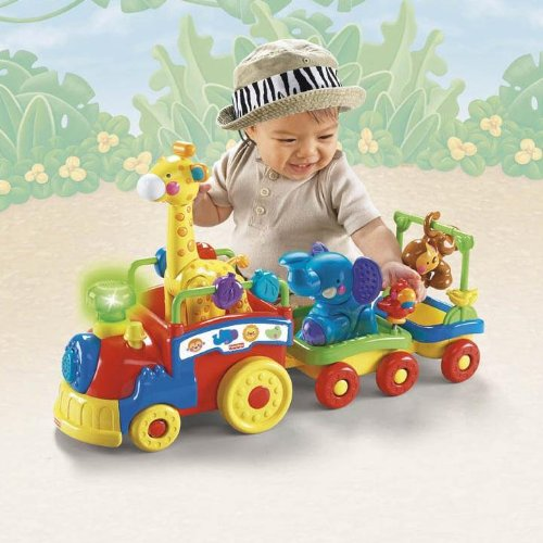 Fisher-Price Amazing Animals Sing and Go Choo-Choo learning toys review