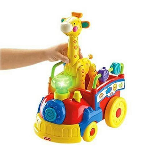 Fisher-Price Amazing Animals Sing and Go Choo-Choo developmetal toy review