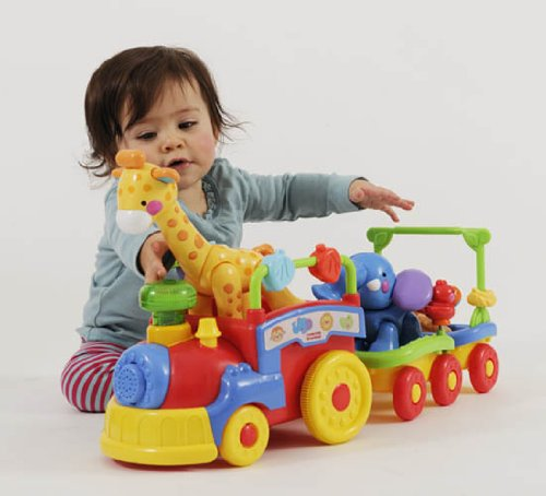 Fisher-Price Amazing Animals Sing and Go Choo-Choo playing