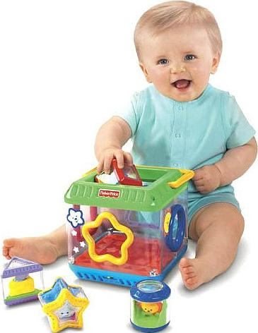 Fisher Price Peek-A-Blocks: Shape Sorter toy for kids