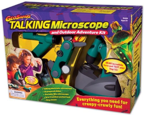 Educational Insights GeoSafari Talking Microscope Adventure Kit toy review
