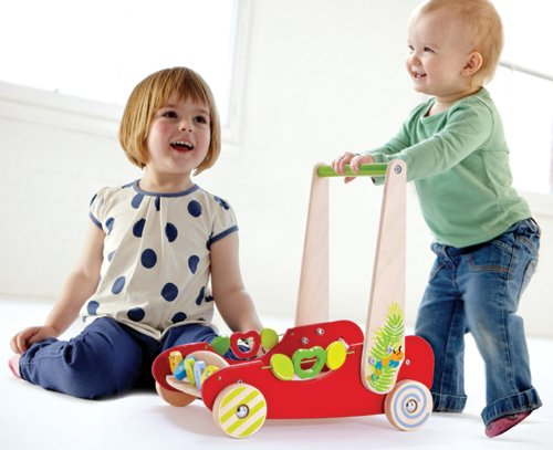 Hape eco push and walk wagon review