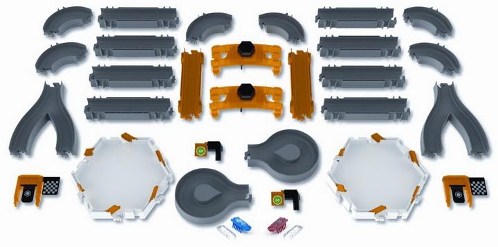 Hexbug nano racetrack habitat toy set