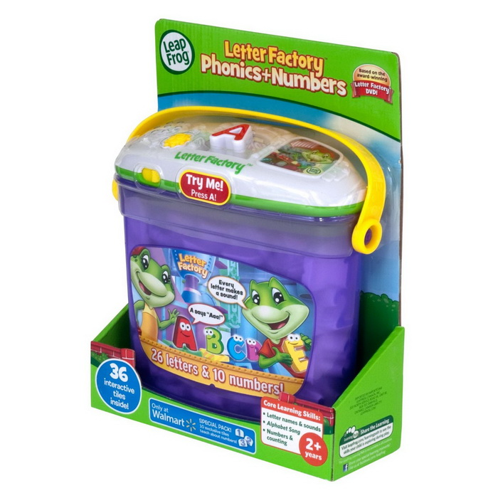 leapfrog letter factory phonics and numbers toy for children