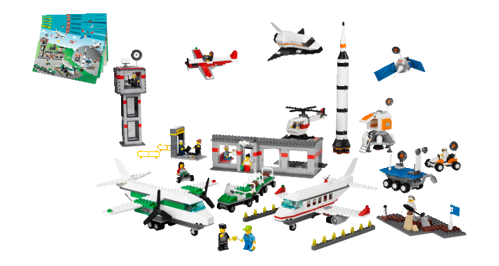 LEGO Education Space and Airport Set for kids playing