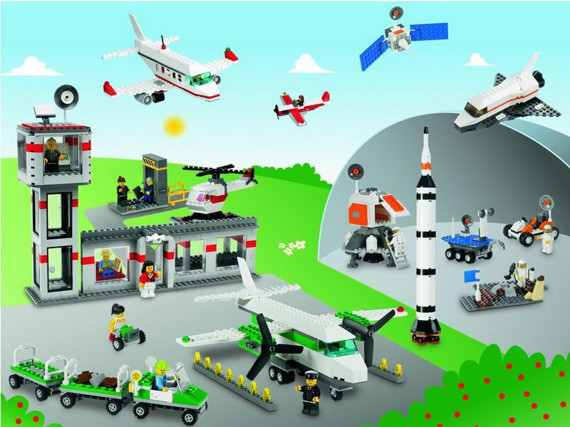 LEGO Education Space and Airport Set toys for children