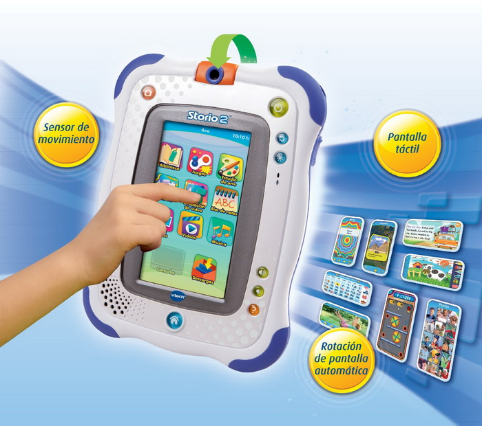 Storio 2 Tablet con Rufus Game for children