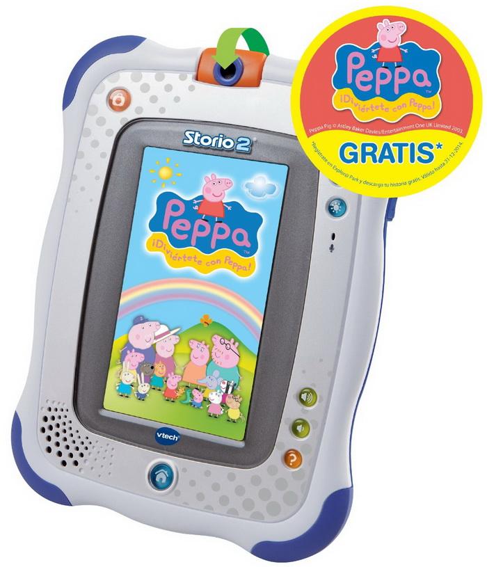 Storio 2 Tablet con Rufus Games