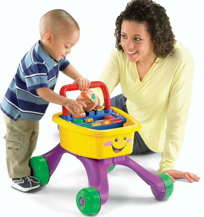 Fun Fisher-Price Laugh and Learn Shop and Learn Walker