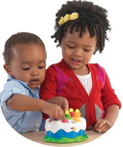 Fun Leapfrog Counting Candles Birthday Cake
