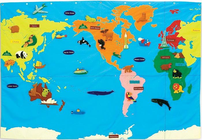 Educational-insights Wonder-world map set
