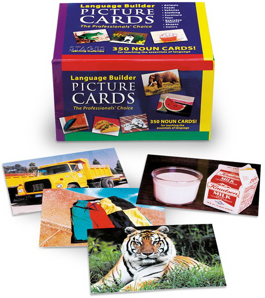 Language Builder Photo Cards Picture Nouns