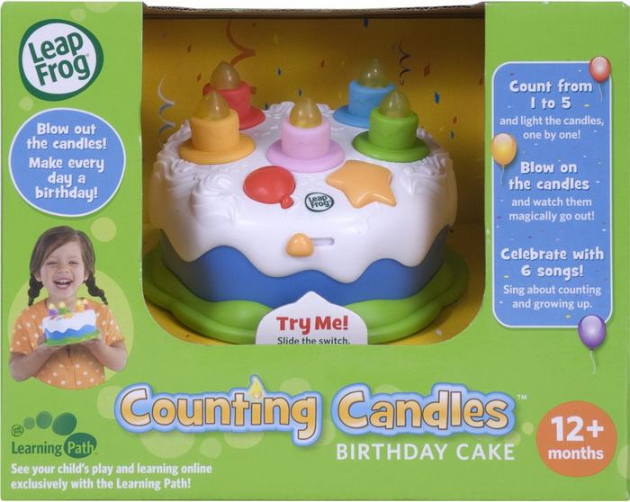 Leapfrog Counting Candles Birthday Cake Kids Toy