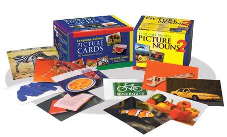 The Language Builder Cards Picture game for children