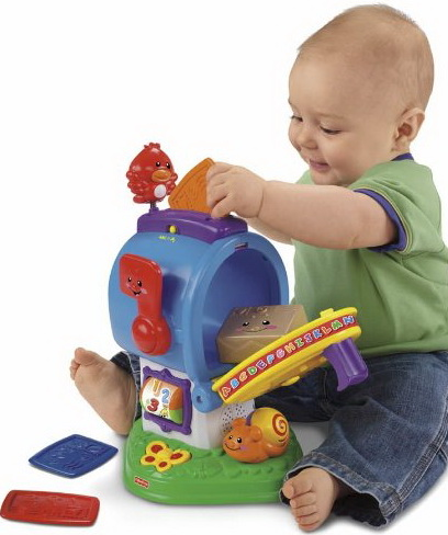 Top-selling toys for 8 month-olds boys and girls