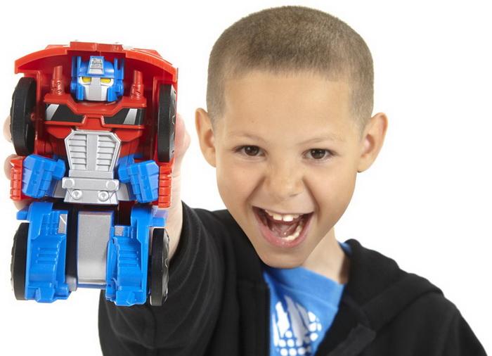 Transformers Rescue Bots Playskool Heroes mobile-playset