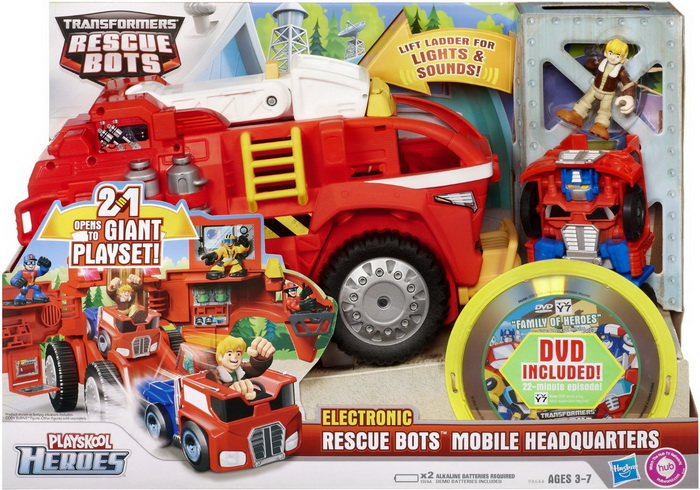 Transformers Rescue Bots Playskool Heroes Mobile Playset For Toddlers
