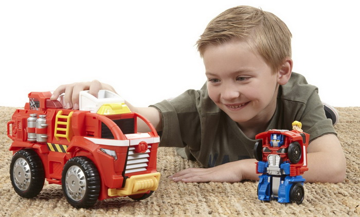 Cool Transformers Rescue Bots Playskool Heroes toy for kids