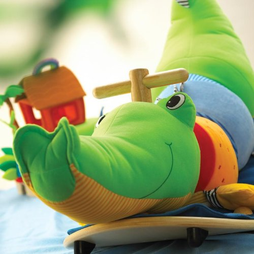 Wonderworld rocking crocodile toy for kids review