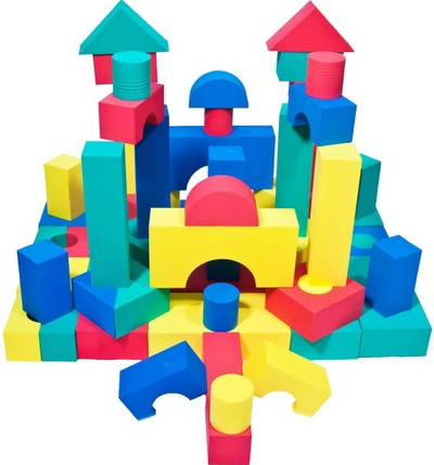 Building-toys for 17 toddlers