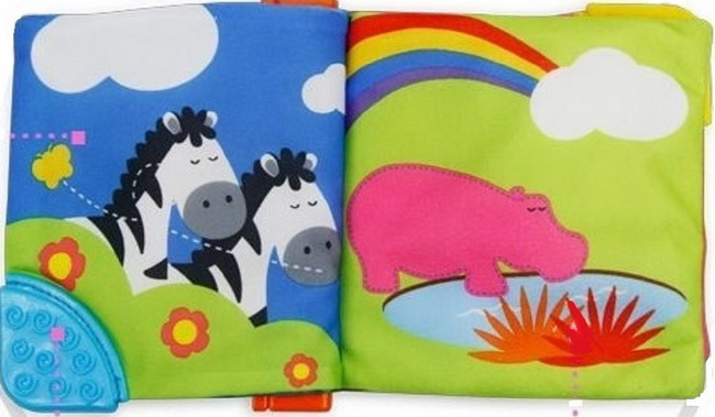 Cloth baby book selection for toddlers