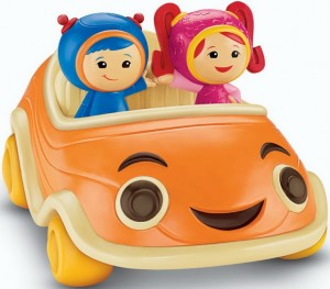 Fisher-Price Team UmiZoomi Come-and-Get-Us Counting Car