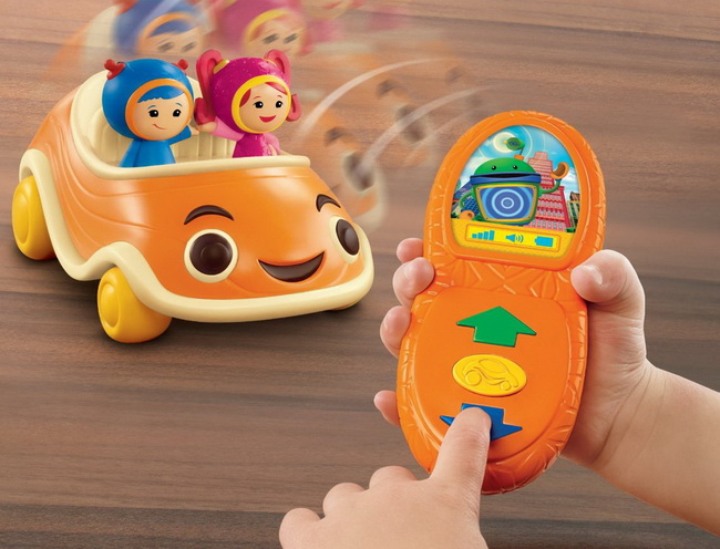 Fisher-Price Team Umizoomi: Come and Get Us Counting UmiCar review