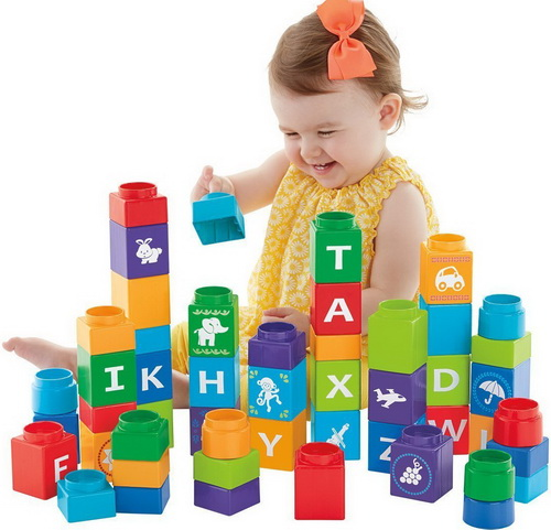 Small children interactive building toys