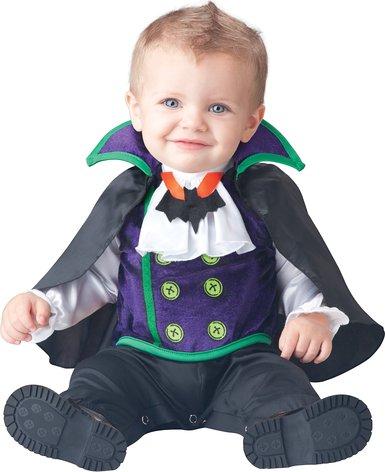 Vampire costume baby boy