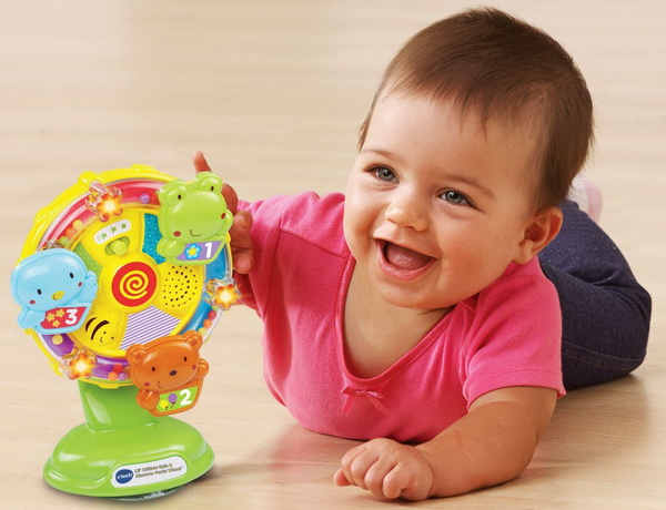Toys For 3 Months : Best toys for month old babies to develop