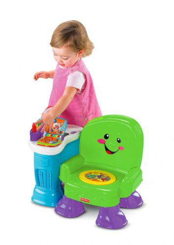 Fisher-Price Song and Story Learning Chair toy review