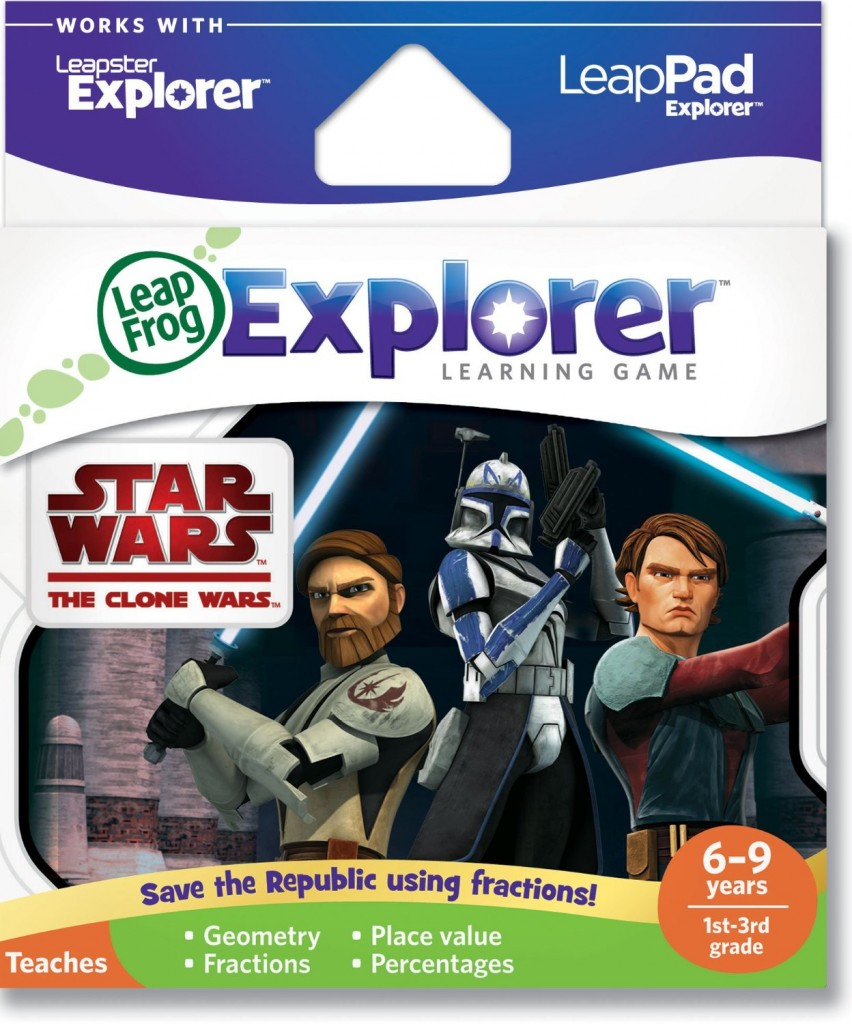 Leapfrog Explorer Learning Game - Star Wars: The Clone Wars