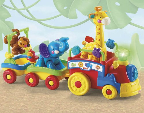 Fisher-Price Amazing Animals Sing and Go Choo-Choo Train Review
