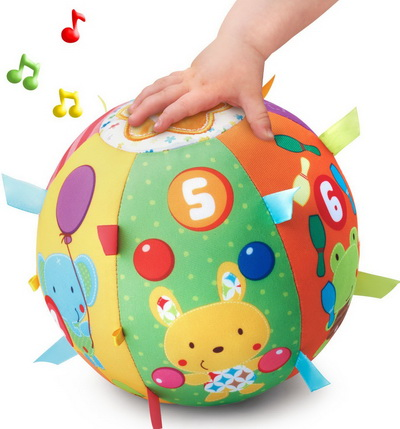 Fun toy selected for 7 month child