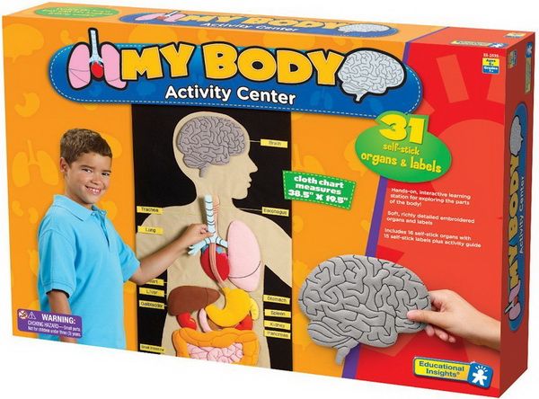 MY BODY ACTIVITY CENTER: HUMAN PARTS FOR KIDS